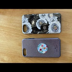 iPhone 8plus Kate spade phone case bundle